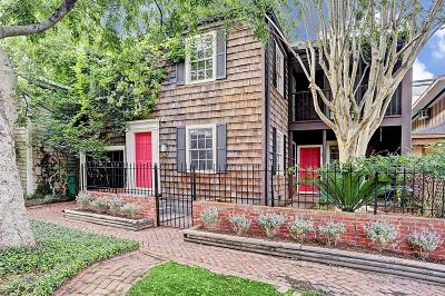 Houston Single Family Home For Sale: 1912 Vermont Street