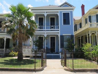Galveston Single Family Home For Sale: 1313 25th Street