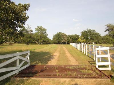 Columbus Farm & Ranch For Sale: 1016 N Reagan Lane
