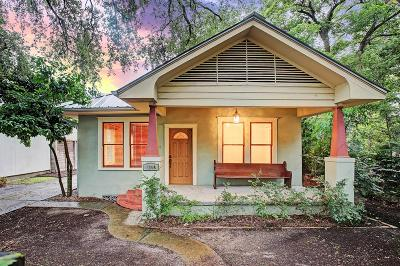 Houston Single Family Home For Sale: 1306 Knox Street