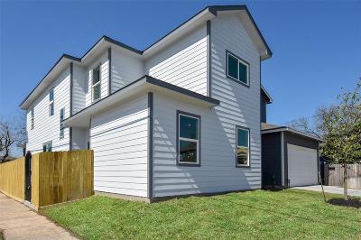 Houston Single Family Home For Sale: 3301 Omega St #A