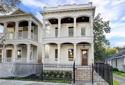 Houston Single Family Home For Sale: 925 A Tulane Street