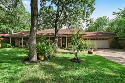 Houston Single Family Home For Sale: 12919 Memorial Drive