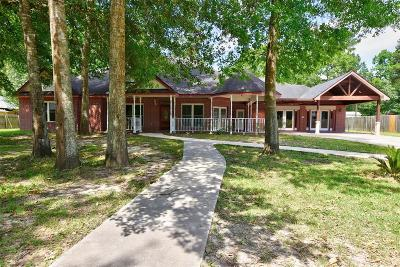 Huffman Single Family Home For Sale: 30707 Huffman Cleveland Road
