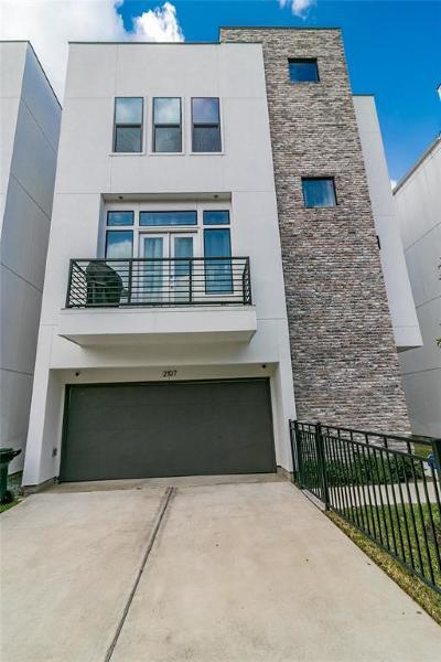 Houston Single Family Home For Sale: 2107 Arabelle Street