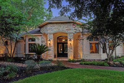 The Woodlands TX Single Family Home For Sale: $1,250,000