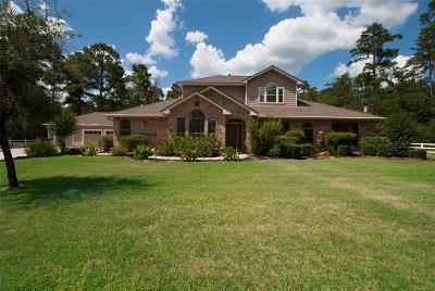 Magnolia Single Family Home For Sale: 30418 S Holly Oaks Circle