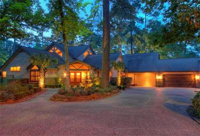 The Woodlands Single Family Home For Sale: 18 Grogans Point Road