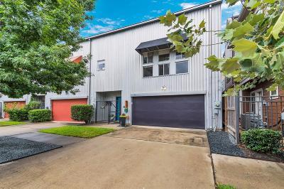 Houston Condo/Townhouse For Sale: 1805 Drew Street