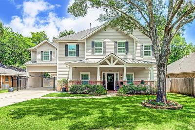 Houston Single Family Home For Sale: 1730 Hollister Street