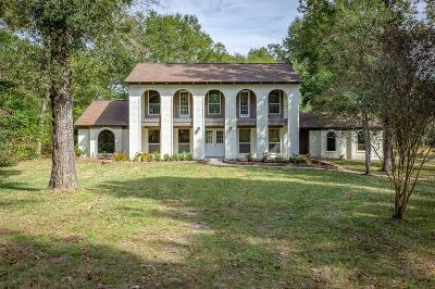 Conroe Single Family Home For Sale: 791 Chicora Wood