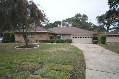 Houston Single Family Home For Sale: 1323 Foxwood Road