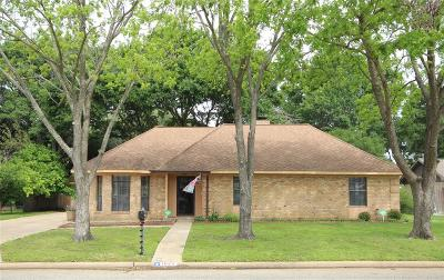 Sealy Single Family Home For Sale: 1023 Eagle Lake Rd Road