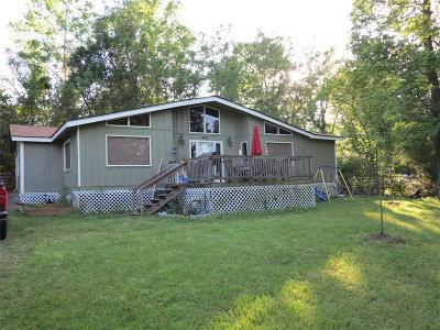 San Jacinto County Single Family Home For Sale: 480 Bar Park Loop