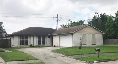 Galveston County, Harris County Single Family Home For Sale: 13402 Boyer Lane