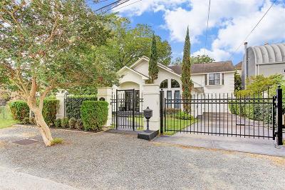 Houston Single Family Home For Sale: 507 Reinerman Street