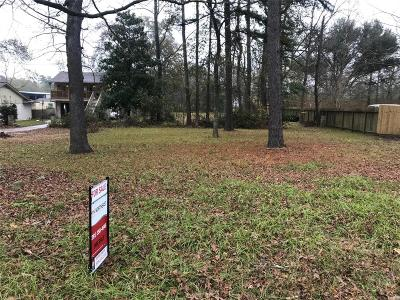 Conroe Residential Lots & Land For Sale: 27312 Blueberry Hill Drive A