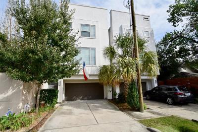 Houston Single Family Home For Sale: 106 Arnold Street