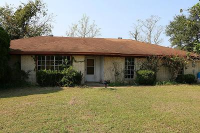 Sealy Single Family Home For Sale: 1253 Columbus Road