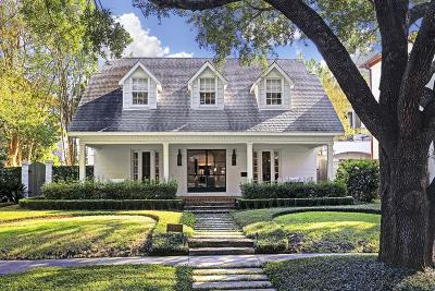Houston Single Family Home For Sale: 2237 Wroxton Road