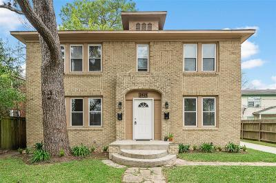 Galveston County, Harris County Multi Family Home For Sale: 2421 Cleburne St Street