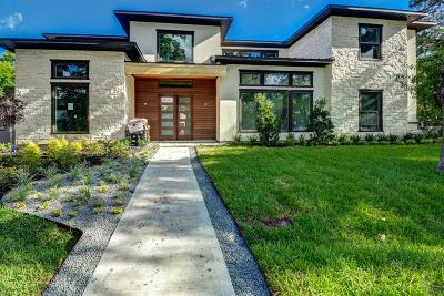 Houston TX Single Family Home For Sale: $2,349,000