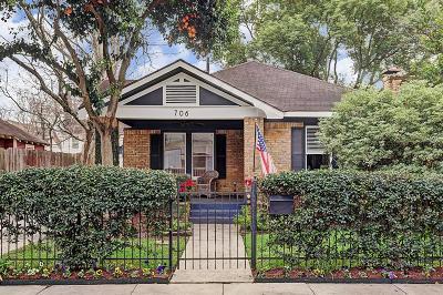 Houston Single Family Home For Sale: 706 E 18th Street