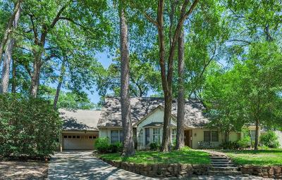 Houston Single Family Home For Sale: 206 Lakemere Street