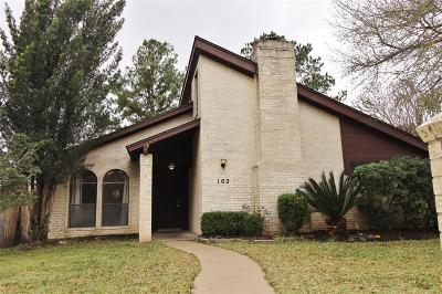 Austin County Single Family Home For Sale: 102 Briar Ridge Drive