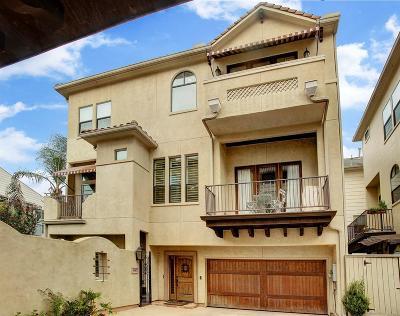 Houston Single Family Home For Sale: 1407 Birdsall Street