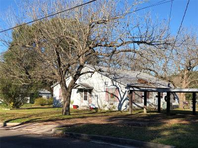 Grimes County Single Family Home Pending: 701 Manley Street