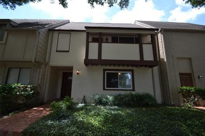 Houston Condo/Townhouse For Sale: 15326 Gorham Drive