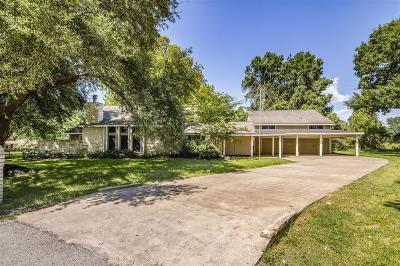 Tomball Single Family Home For Sale: 18802 W Bluebird Lane
