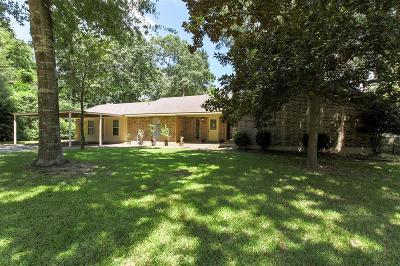 Montgomery Single Family Home For Sale: 5707 Skylane Drive