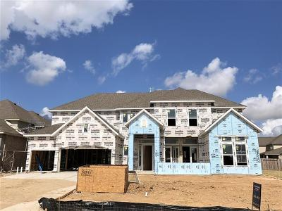Katy TX Single Family Home For Sale: $727,279