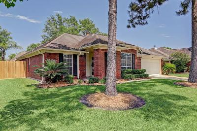 Pearland Single Family Home For Sale: 1809 Oak Gate Circle