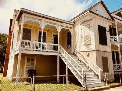 Galveston Single Family Home For Sale: 2400 Avenue O