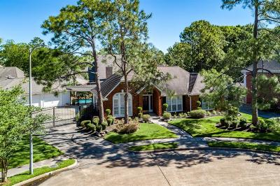 Houston Single Family Home For Sale: 15707 Greencourt Drive
