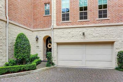 Houston Condo/Townhouse For Sale: 2162 Briarglen Drive