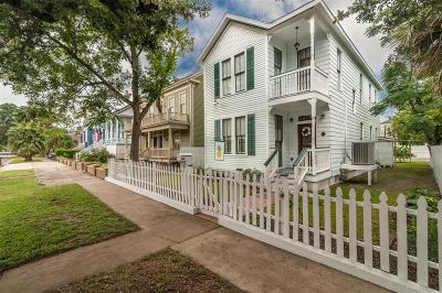 Galveston Single Family Home For Sale: 1823 Avenue K