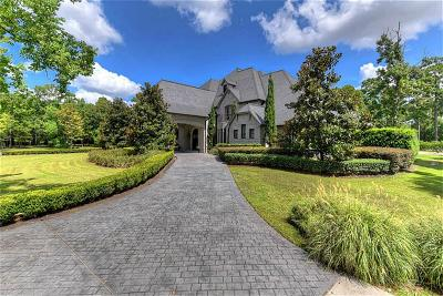 Tomball Single Family Home For Sale: 300 Saddlebrook Lane