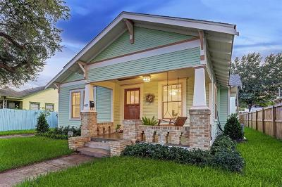 Houston Single Family Home For Sale: 409 Tabor Street