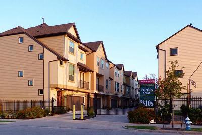 Houston Single Family Home For Sale: 6363 Fairdale Lane #J