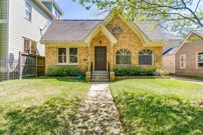 Houston Single Family Home For Sale: 1428 Heights Boulevard