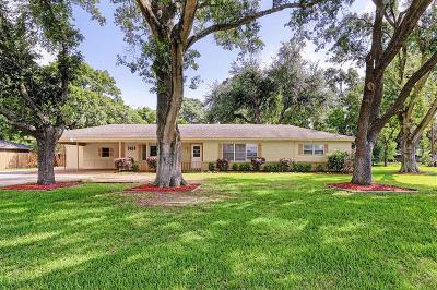 Sealy Single Family Home For Sale: 1464 S Circle Dr Drive
