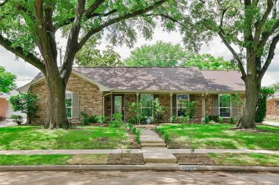 Houston Single Family Home For Sale: 3707 Woodvalley Drive