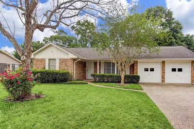 Houston Single Family Home For Sale: 1614 Tannehill Drive
