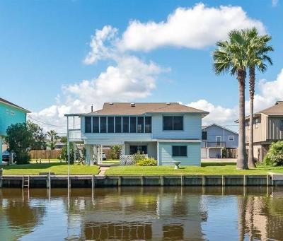 Bayou Vista Single Family Home For Sale: 240 Barracuda Street