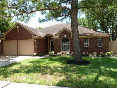 Friendswood Single Family Home For Sale: 15606 Heritage Falls Drive