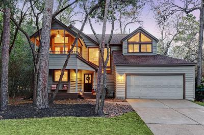 The Woodlands Single Family Home For Sale: 3 Hidden Deer Corner Court